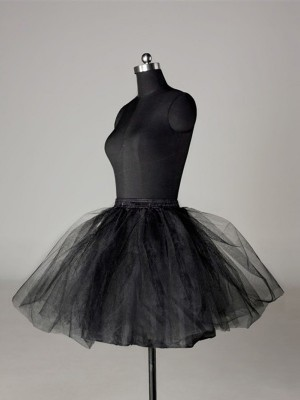 Tul Mallating Ball-Gown 2 Tier Corto Length Special Occasion Petticoat