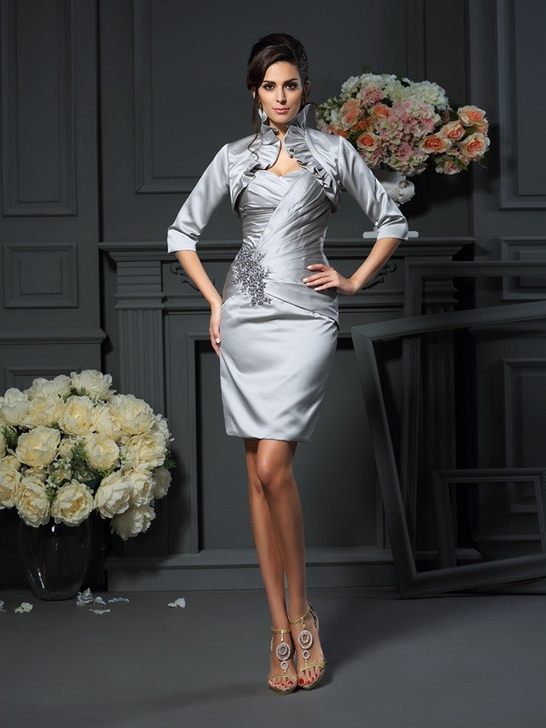Satin Half Sleeves Special Occasion Fashion Wrap