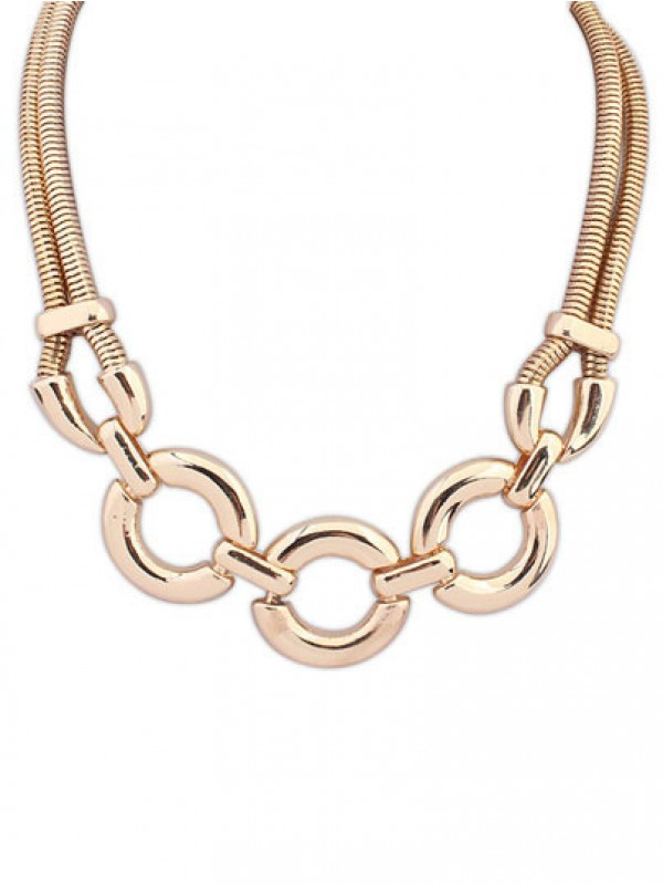 Occident Punk Major suit Street shooting Fashion Necklace