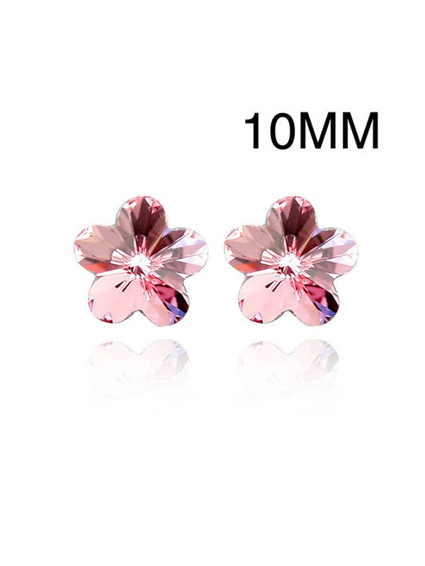 Austria Cristales Stud Fashion Earrings
