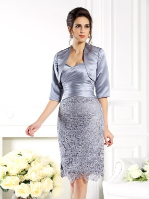 1/2 Sleeves Satin Special Occasion Fashion Wrap