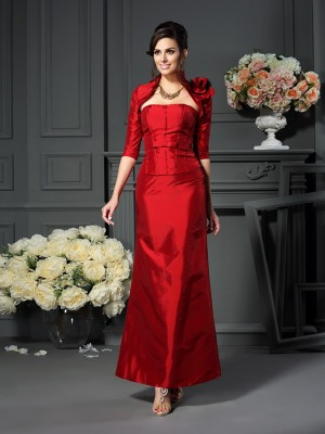 Taffeta 1/2 Sleeves Hand-Made Flower Special Occasion Fashion Wrap