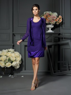Long Sleeves Chiffon Special Occasion Fashion Wrap