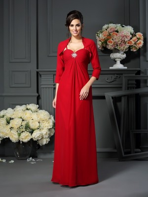 Chiffon 3/4 Sleeves Special Occasion Fashion Wrap