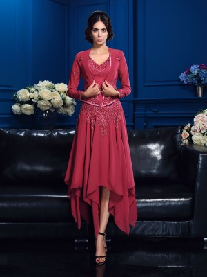 Chiffon Long Sleeves Applique Special Occasion Fashion Wrap