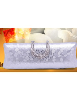 Estrás PU Party/Evening Bag
