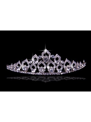 Glamorous Alloy With Czech Estráss Wedding Party Headpiece