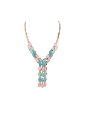 Occident Bohemia Tassels Fashion Necklace