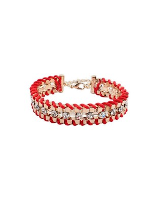 Occident Ethnic Customs Woven Estrás Fashion Bracelets